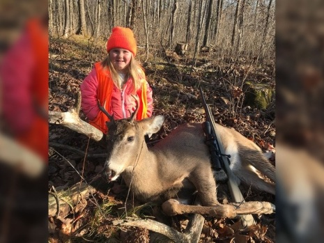 Six-year-old girl kills deer under Wisconsin's new hunting rules