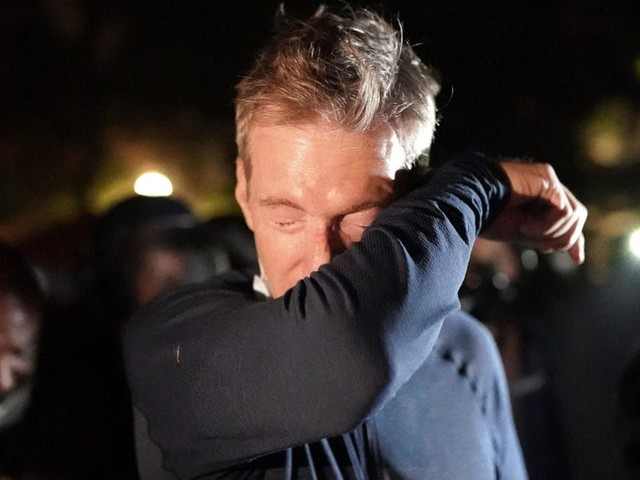 Portland Mayor Ted Wheeler pepper sprayed a man during a confrontation outside of a restaurant