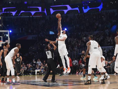 Team LeBron Edges Team Stephen In NBA All-Star Game
