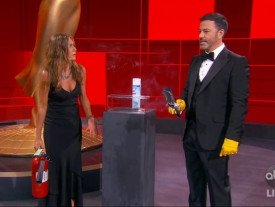 Emmy Awards 2020: 10 Best and Worst Moments, From Essential Workers to Kimmel's Faux Crowd (Photos)
