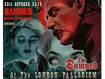 The Damned to appear at London Palladium in October