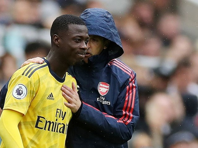 Nicolas Pepe explains how Unai Emery is helping him settle at Arsenal