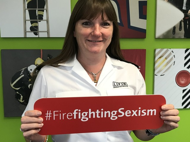 Why We Are Campaigning To Shake Off The Outdated Term 'Firemen'
