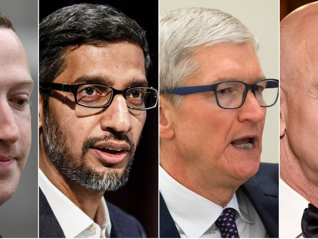 Big tech's giant power could be challenged in blockbuster antitrust probes — here's what that means for Apple, Amazon, Facebook, and Google