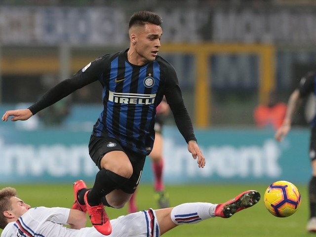 Inter Milan's second half leads to 2-1 win over Sampdoria