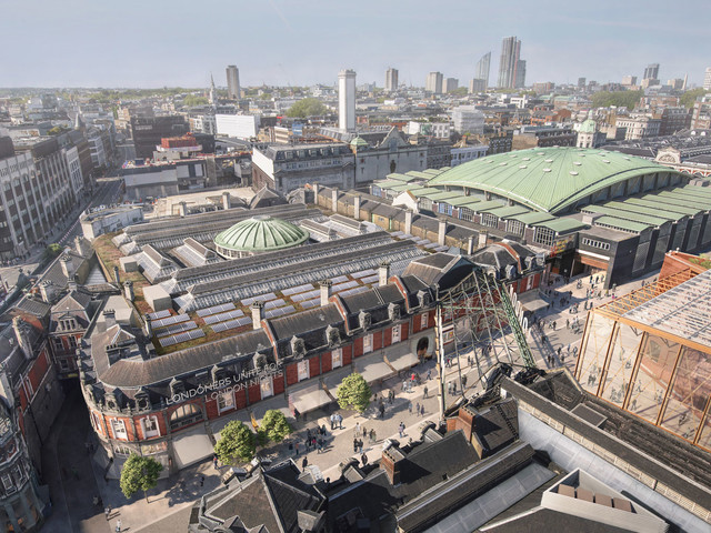 Museum of London submits application to move to Smithfield