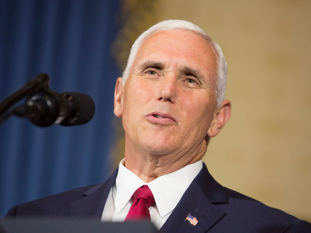 Pence turns to states' rights to solve the Confederate statue issue