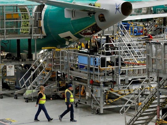 Boeing is quietly reaching out to retired airplane mechanics for help getting the 737 Max airborne again (BA)