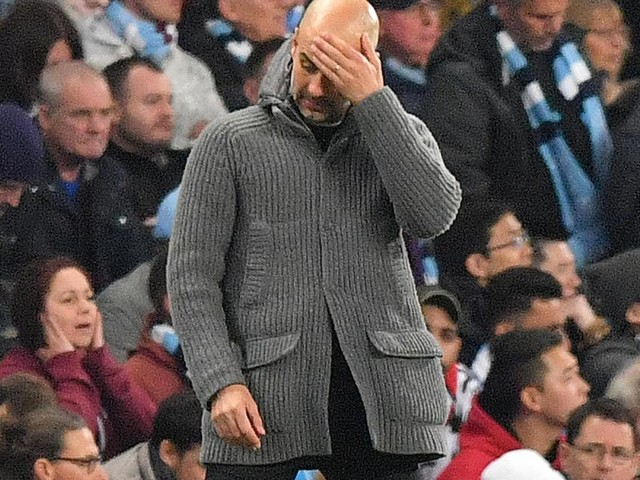 Guardiola's future in doubt after Man. City hit with UEFA ban