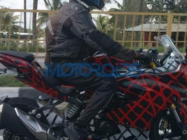 TVS Apache RR 310S Launch In 2018, Spied Again