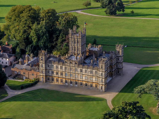 The real Downton Abbey: inside Highclere Castle where hit show was filmed