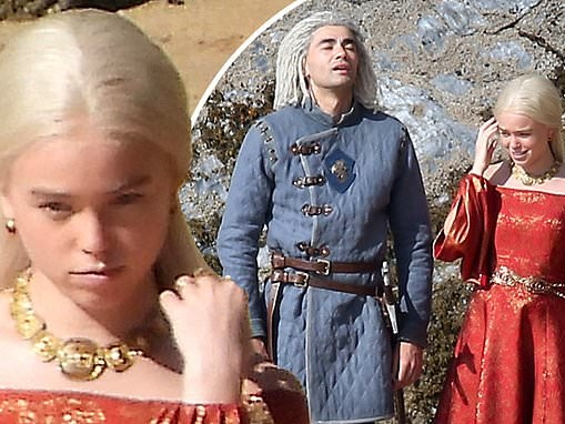 House Of The Dragon starMilly Alcock seen in character for FIRST time for Game Of Thrones prequel