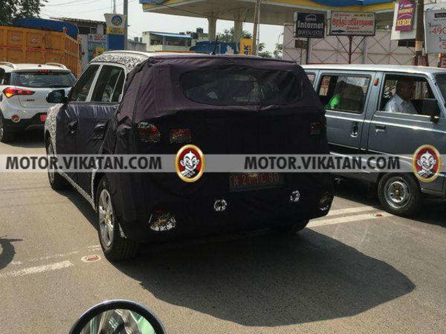 2018 Hyundai Creta spied on test in India ahead of Auto Expo debut
