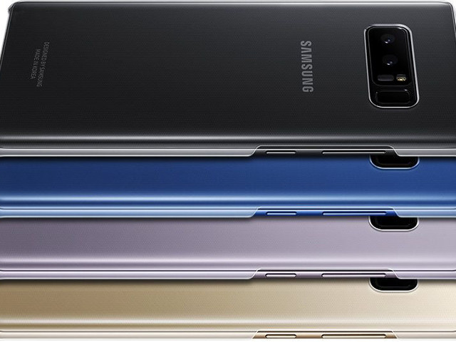 Check out the prices of all Note 8 cases and official accessories