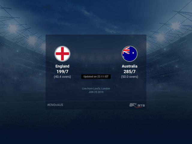 Australia vs England Live Score, Over 36 to 40 Latest Cricket Score, Updates