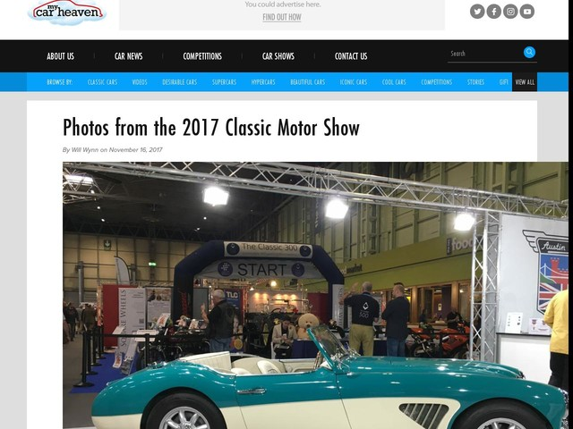 Photos from the 2017 Classic Motor Show