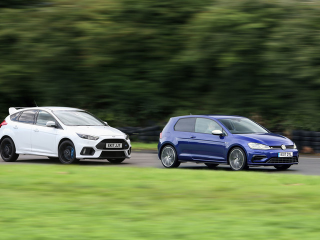 Britain's best affordable driver's car: Volkswagen Golf R versus Ford Focus RS