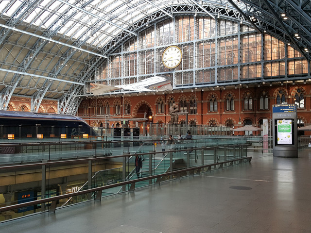150th anniversary of St Pancras Station