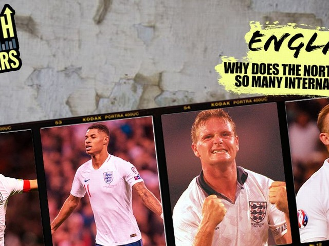 Why Manchester produces so many England national team players