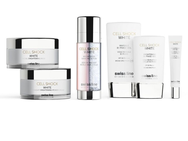 Advanced Brightening Skincare Ranges - The Cell Shock White Collection Has a Complex Delivery System (TrendHunter.com)