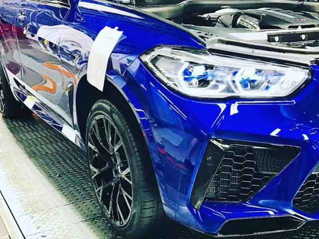 BMW X5 M Competition, X6 M Competition pictures leaked