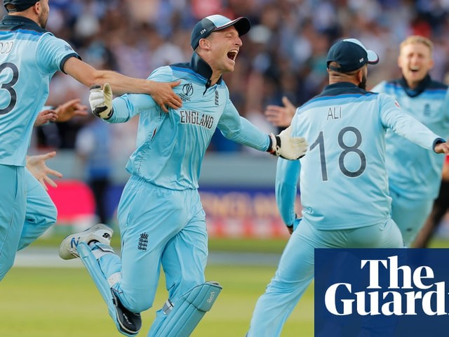 England win a World Cup …and for once the nation really was watching | Barney Ronay