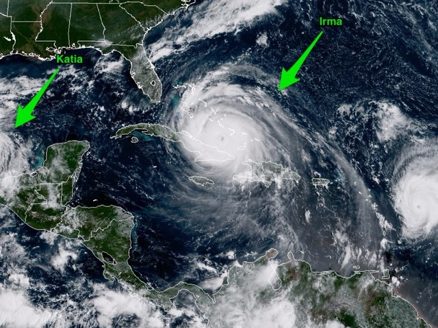 This is the first time the Atlantic has had two hurricanes with 150-mph winds at the same time — here's why this season is so active