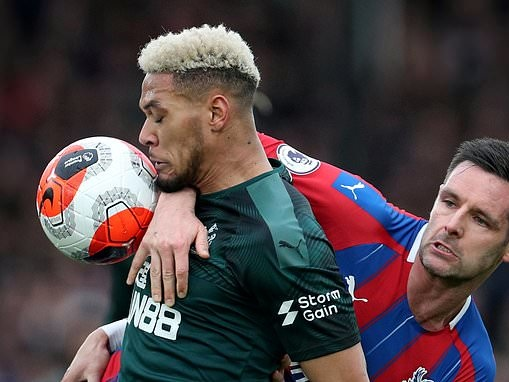 Time is up for Joelinton... Newcastle need a strike threat and the Brazilian looked lost up front