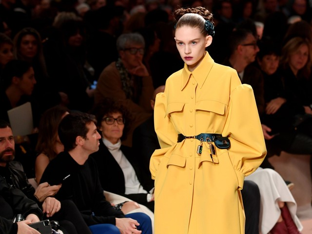 Fendi's future-facing show at Milan Fashion Week aims to entice Instagram generation with tech collaboration