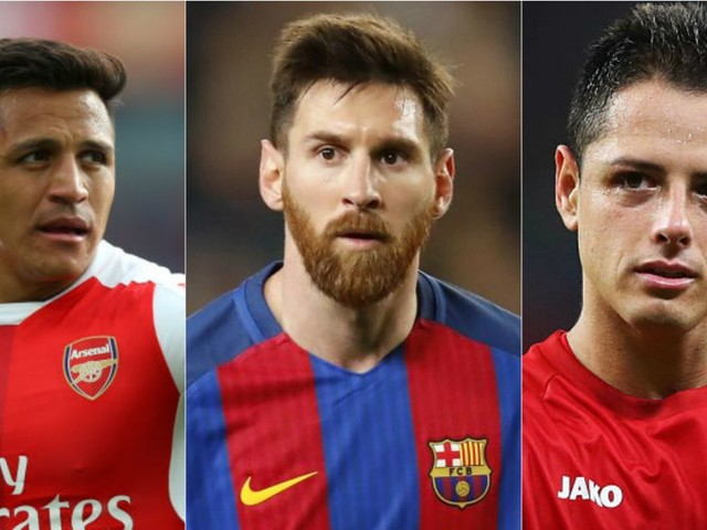 Alexis Sanchez, Lionel Messi and Javier Hernandez – the 40 stars who could be free transfers next summer