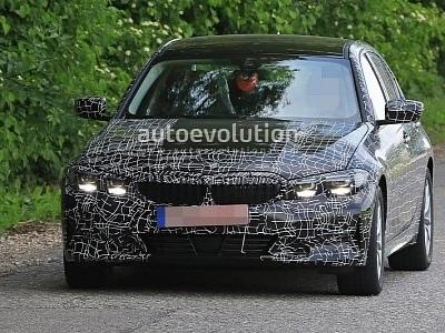Spyshots: 2019 BMW 3 Series Sheds Heavy Camo, Reveals 8 Series-Like Design