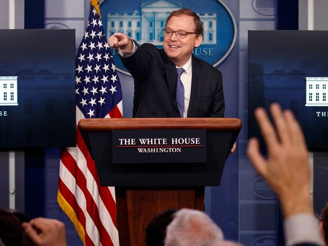 Trump's controversial economic adviser says the 'crowded' White House is a 'scary' place to work amid increasing infections