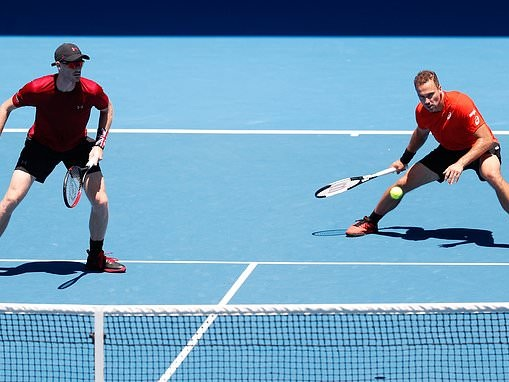 Jamie Murray out of contention in men's doubles at Australian Open