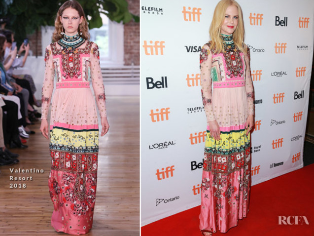 Nicole Kidman In Valentino – 'The Killing Of A Sacred Deer' Toronto Film Festival Premiere