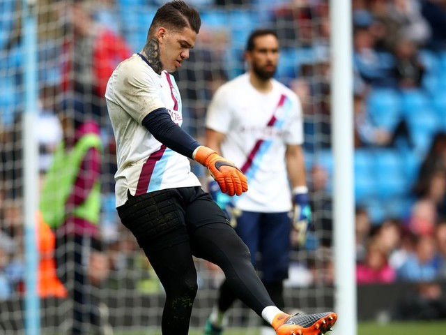 Ederson wants a Man City goal before the end of the season - and so do the fans
