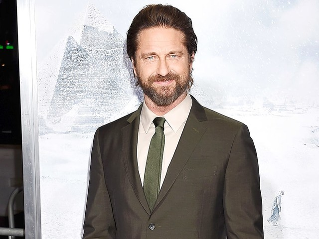 Gerard Butler Walks Red Carpet After Breaking Five Bones in His Foot: 'It Hurt a Bit'