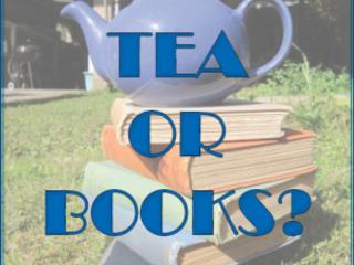 Tea or Books? #70: Simon Takes a Tour of Rachel's Bookshelves