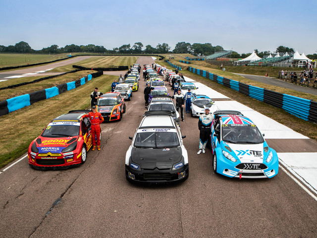 Racing lines: Why bigger is better for British Rallycross