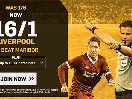 Maribor v Liverpool FC: 16/1 enhanced odds, kick-off time and betting tips