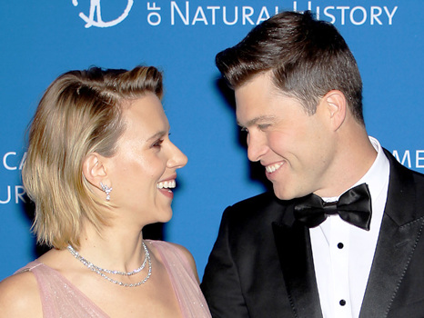 Scarlett Johansson Gushes Over Colin Jost's Proposal: It Was A 'Whole James Bond Situation' — Watch