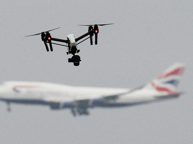 Government To Test Measures To Jam Or Shoot Down Drones After Gatwick Chaos