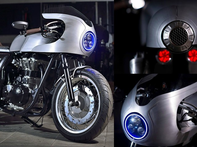 Royal Enfield Continental GT 'Silver Bullet' Is The Retro-Styled Beauty You'd Fall In Love With