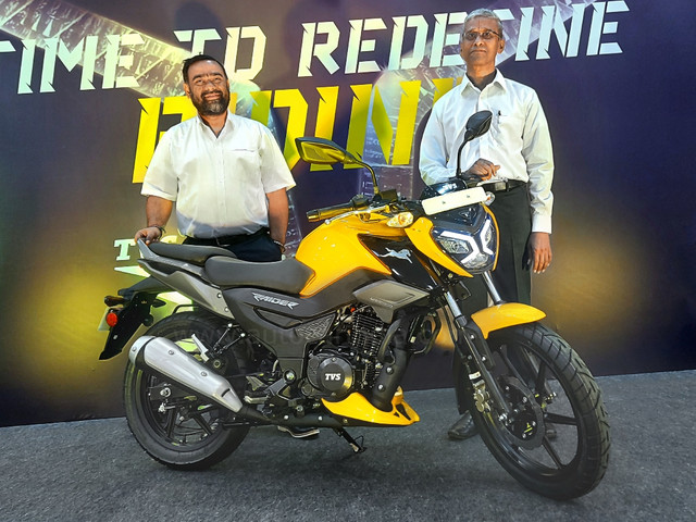 TVS Raider 125 launched from Rs 77,500