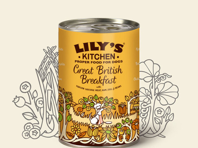 British-Style Pet Foods - Lily's Kitchen's 'Great British Breakfast' Adapts a Classic Meal for Dogs (TrendHunter.com)