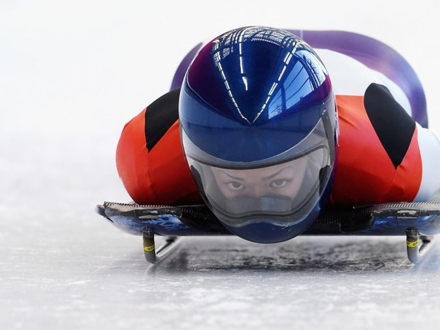 Everything you need to know about skeleton, the Olympic sport that sends athletes hurtling head first down icy tracks at 90 miles an hour