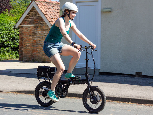 "E-bike review: Perry Ehopper 16"" Electric Folding Bike"