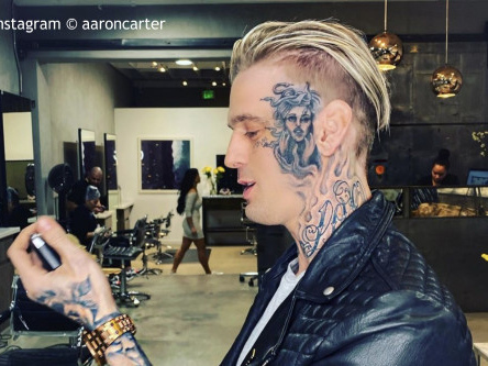 Aaron Carter wants to fight Justin Bieber in celeb boxing match