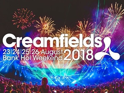 Creamfields 2018 added Tiësto to the roster