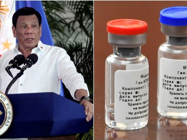 Philippines leader Duterte may be injected with Russian Covid-19 vaccine as early as May 2021 – spokesperson