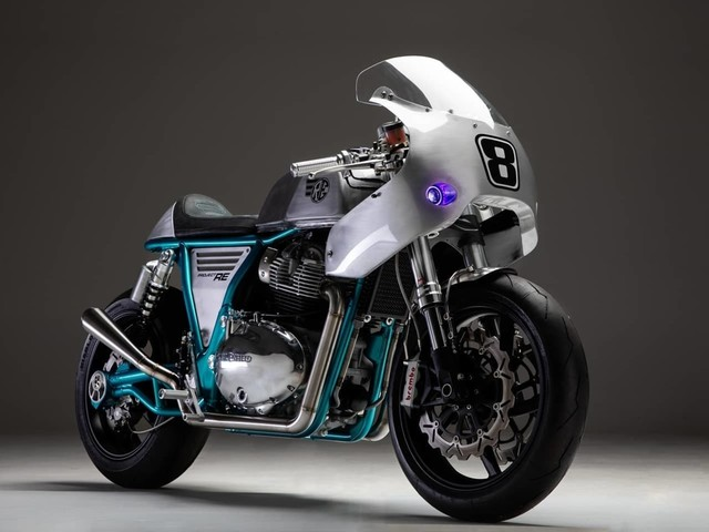Is This The Coolest Custom Royal Enfield Continental GT650 Ever?